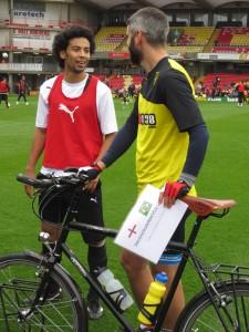 Watford's Brazilian midfielder Iriney Santos (he's from Amazonas State)