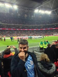 Nervous pre-match