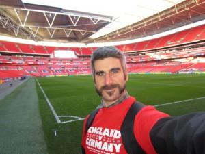 Wembley selfie