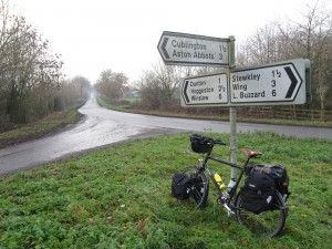 My bike and a signpost #2