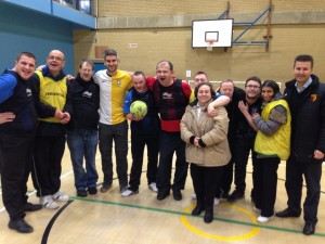 With a WFC CSE Trust disability group in Watford