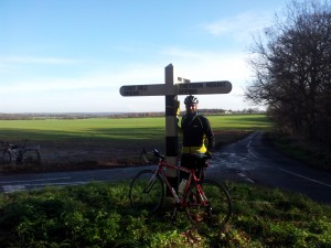 Another day, same route, better weather!