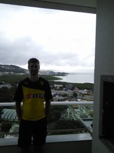 Rodrigo's balcony, Floripa