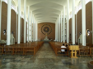 Modern cathedral (inside)