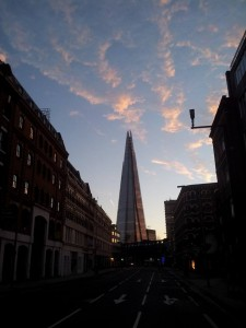 The Shard from Southwark Street