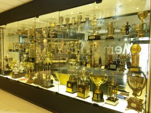 Now that's a trophy cabinet!