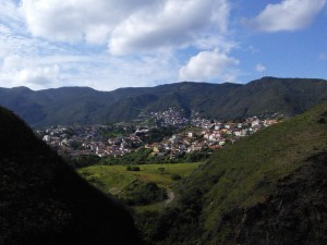 And here's picturesque Ouro Preto