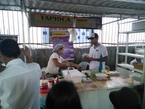 Tapioca = a local favourite, I had mine filled with jam and cheese!