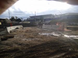 Stadium access road!