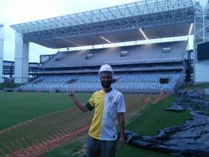 The England/Brazil shirt