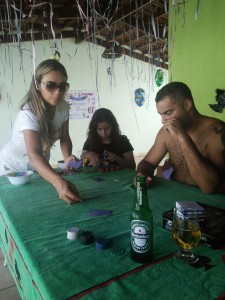 Afternoon poker session