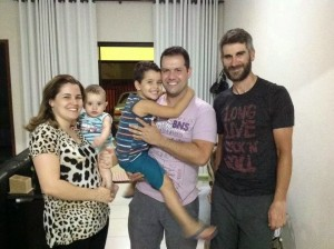 Braulio and family