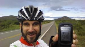 4,000km selfie