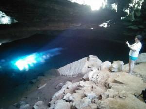 Gruta Azul = Blue Cave