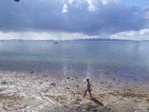 Ships, chuva (=rain) and city