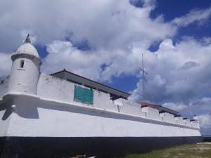 Colonial Dutch fort (pretty much the same as one I saw in Sri Lanka)