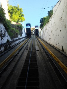 ...it's the amazing funicular/cable railway!