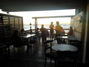 We finished the tour in this stunning cafe...