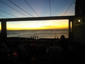 ...to enjoy the gorgeous sunset