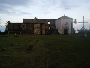 Would you call this a castle? Well apparently it's the oldest 'castelo' in Brazil (built between 1551 and 1624, so took even longer than the World Cup footy stadiums!)