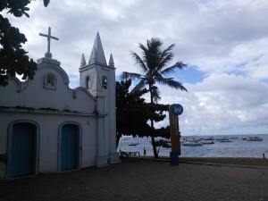 Quaint seaside church