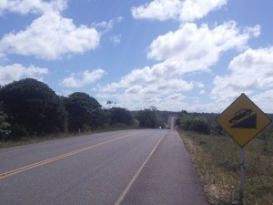 It was a bumpy farewell to Bahia with two day of constant ups and downs and ups again!