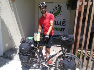 I went to EcoCiclo in Aracaju to get a new chain, then also bought much needed new drinks bottles and cycling shorts