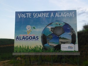 They may have no games but Alagoas is up for the World Cup