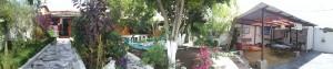 HI Hostel's back yard