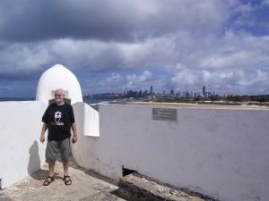 At Forte dos Reis Magos where...