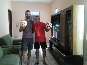 Me and Alfredo