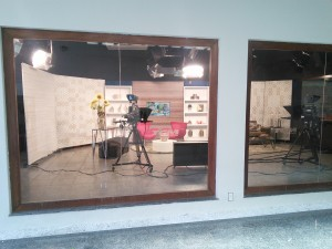 At the TCM studios to do an interview - see Press Info page (scroll down)