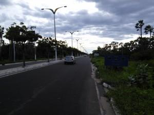 The road into Beberibe