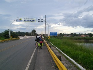 4 cycling days left, 363km to Belem!