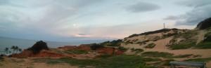 Moonrise / sunset
