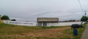 Local footy stadium