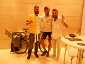 SmudgerSambaCycle, Ride2Rio and WalkToTheWorldCup united at last!