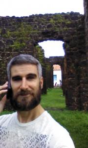 Radio interview selfie