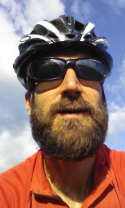 Last day of cycling selfie