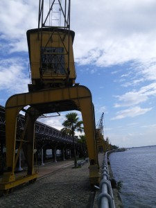 Belem's renovated docks