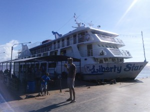 Our ferry boat