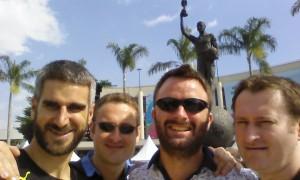 Visited the Maracana